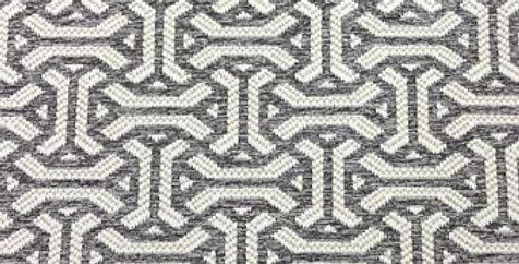 Taupe Interlocking Geometric