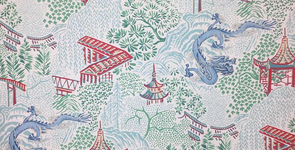 Aqua Garden Chinoiserie - Vern Yip