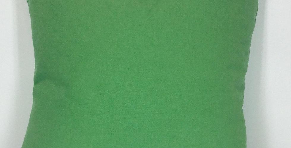 Solid Green Pillow - Linen