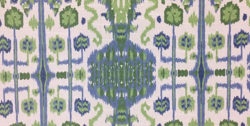 Bombay Kelly- Ikat - Print - print fabric- upholstery