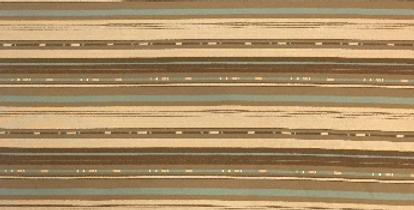 Brown - Blue R/R Stripe
