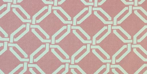 Bubble Gum Pink - Geometric Links