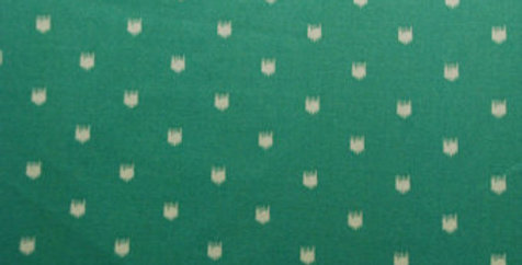 Teal Dots Upholstery Fabric