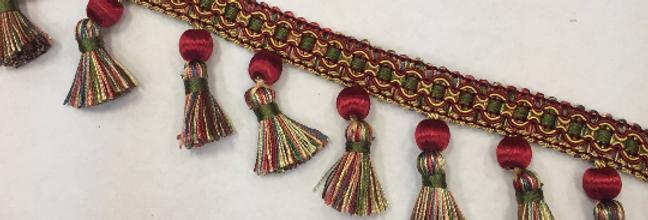 Meer - Colonial - Multicolor - Tassel Fringe