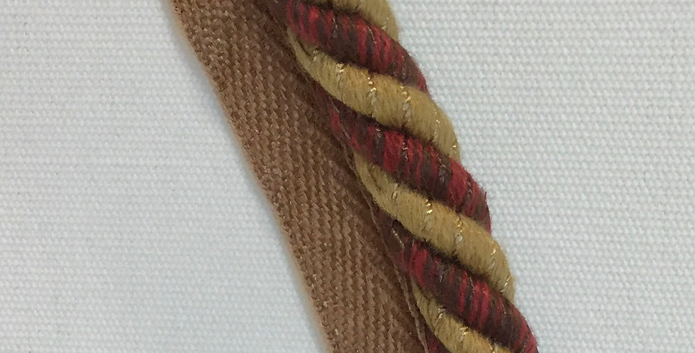 Red, Brown, and Gold Cord