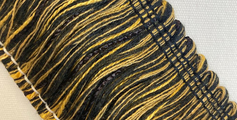 Gold and Black Brush Fringe