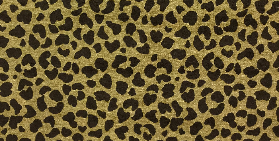 """Gold"" and Brown Cheetah Print"