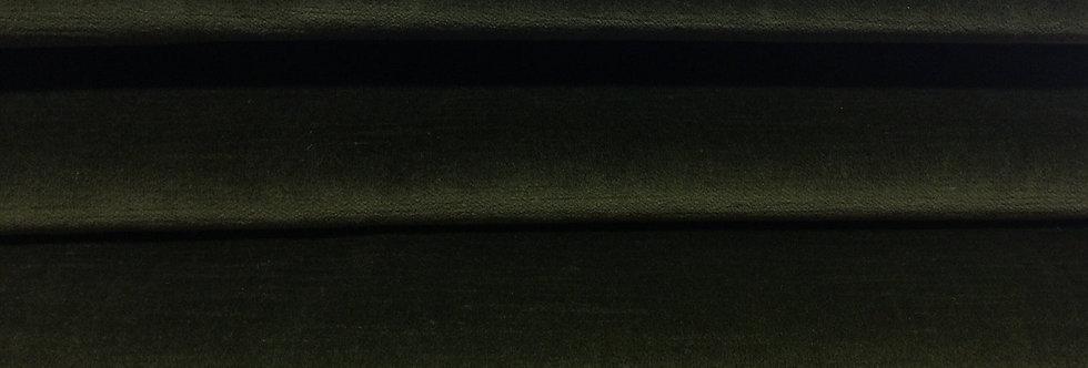 Moss Green Velvet - Deep Dark Green Velvet - Deep Green Fabric - Soft Texture