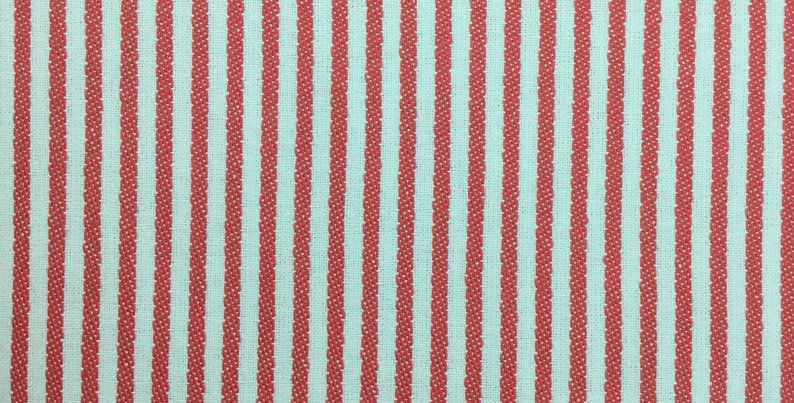 Coral Ticking Stripe