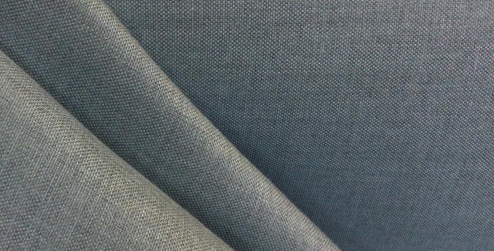 Gray Linen - Gray Upholstery Fabric - Neutral Pillows - Gray Cushion