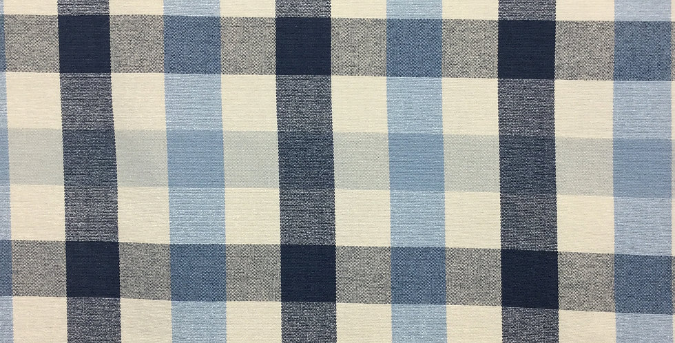 Kennedy Plaid -Indigo- Blue