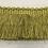 Thumbnail: Solid Green Brush Fringe