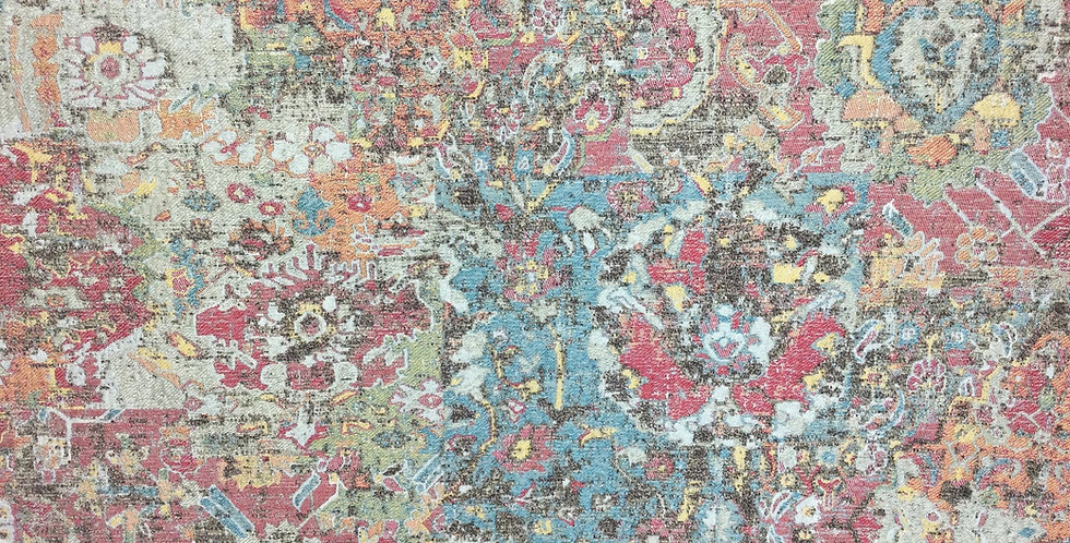 Deco Art Upholstery Fabric - Tapestry - Multicolored - Rustic Color Way - Damask