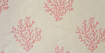 Embroidered Coral - Regal