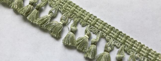 Mint Green Tassel Fringe