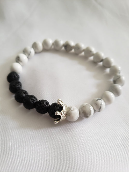Men's Lava Bead Bracelet