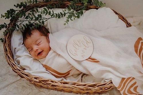 Hello World Outback Desert Newborn Gift Set