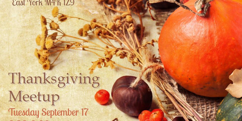 Thanksgiving Meetups