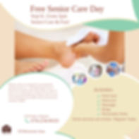 Senior Care  Services Flyer Poster - sep