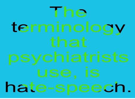 Mental Health literacy = hate-speech