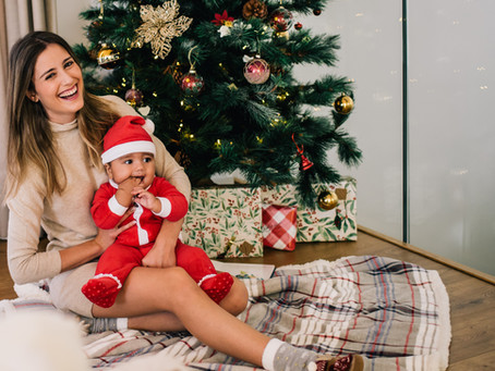 Silvia, Alex & Richard   Fotos familiares Navidad