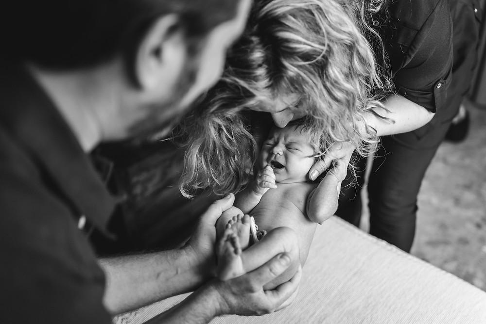 Fotografía de recién nacidos a domicilio en Valencia