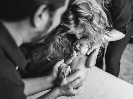 Ana, Zoe & Carlos   Fotos de recien nacido
