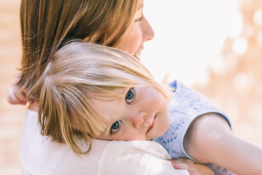 Sesión de fotos de familia en Jardines de Monforte, Valencia