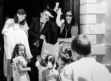 Pablo & Familia | Reportaje de bautizo en Valencia