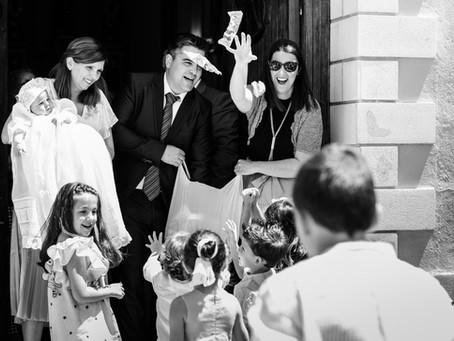 Pablo & Familia   Reportaje de bautizo en Valencia