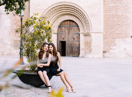 Ella & Alex | Valencia City Summer Portraits