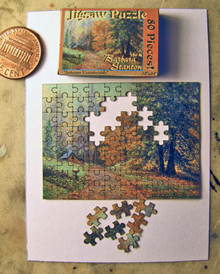 """""""Autumn Countryside"""" Puzzle"""