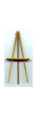 """4"""" Handcrafted Wooden Easel"""