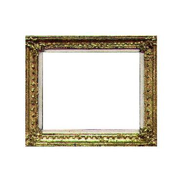 Fancy Gold Leafed Frame
