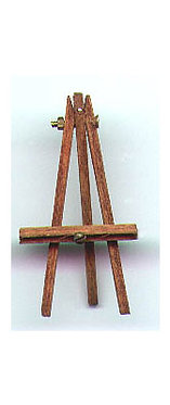 "1"" Handcrafted Wooden Easel"