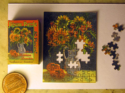 """""""Sunflowers w Tomatoes"""" Puzzle"""