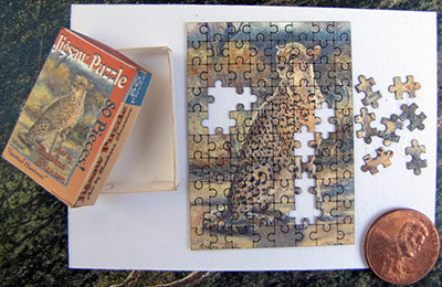 """Spotted Huntress"" Puzzle"