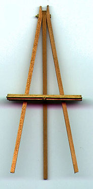 """5"""" Handcrafted Wooden Easel"""