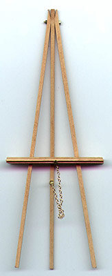 """6"""" Handcrafted Wooden Easel"""