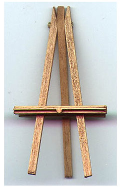 "2"" Handcrafted Wooden Easel"