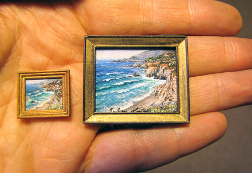 """1/4"""" Scale Paintings"""