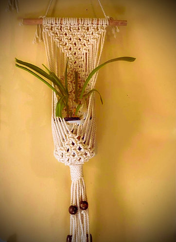 Macrame and Montana Oil combo!