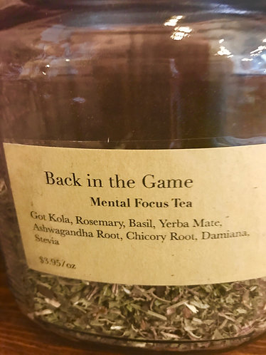 Back in the Game Tea