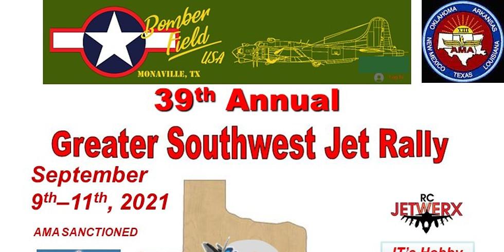Greater southwest jet rally RV registration