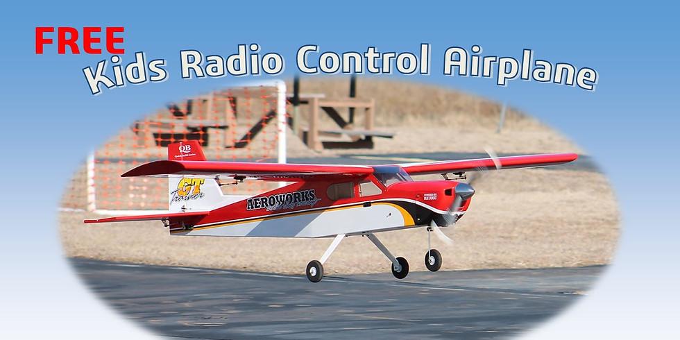 Free Kids Radio Control Flying Lessons.