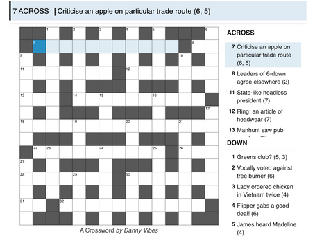 Cryptic 2: A Crossword
