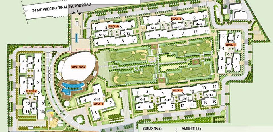 Ireo Skyon Site Plan
