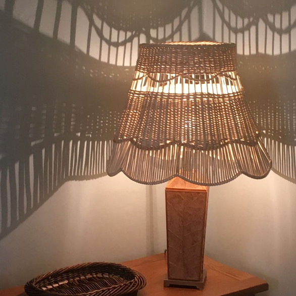 Lacey Woven Willow Lampshade