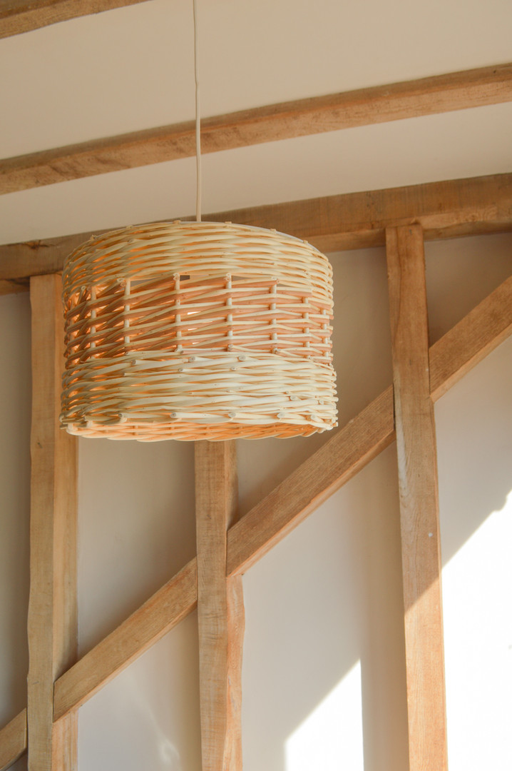 Handmade Willow With roots - Willow Drum