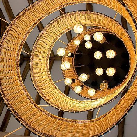 Willow Spiral Lampshade Pensons Restaura